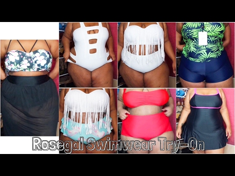 Miami Ready | Swimsuit Try-On | Rosegal | Plus Size
