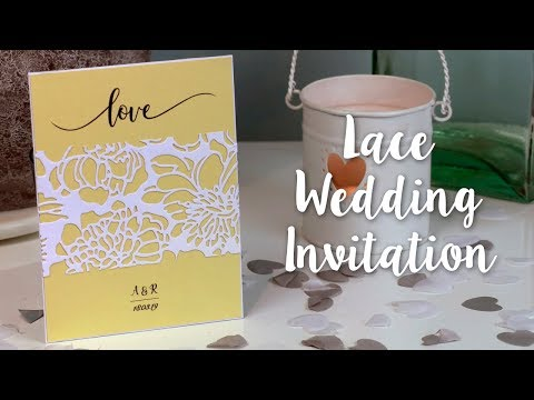 Budget Friendly DIY Wedding Invitation
