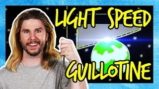 The Faster-Than-Light Guillotine