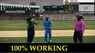 "[100% SURE] DOWNLOAD + INSTALL ""DON BRADMAN CRICKET 14"" FOR PC"