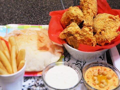 Homemade Al Baik Fried Chicken