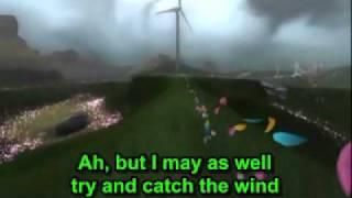 Donovan Leitch - Catch The Wind (lyrics)