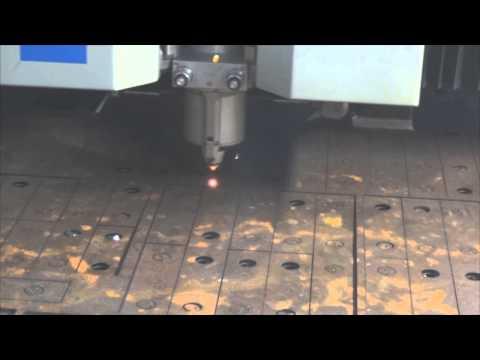 Лазерная резка ржавого листа