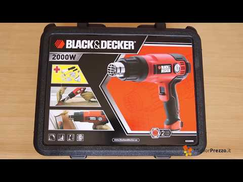 Pistola termica Black & Decker KX2200K Video Recensione