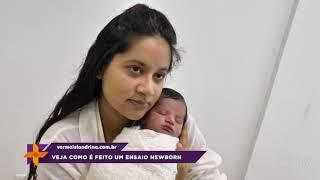 Veja como é feito um ensaio newborn