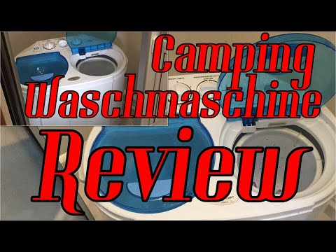 Camping Waschmaschine Review OneConcept DB003
