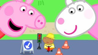 Peppa Pig Official Channel | Peppa Pig and Suzy Sheep are Visiting Tiny Land