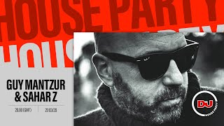 Guy Mantzur, Sahar Z - Live @ DJ Mag House Party x Haoman 17 2020