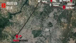 Hero Homes | 9711836846 |104, Gurgaon -Drone shoot