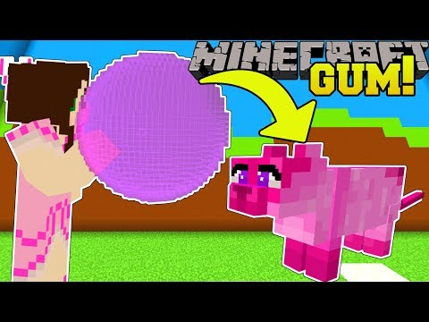Minecraft: BUBBLE GUM SIMULATOR!!! (FLY INTO THE SKY WITH PETS!) Modded Mini-Game