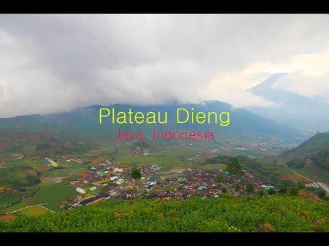 Индонезия. Плато Диенг на острове Ява / Indonesia. Travel to Dieng plateau