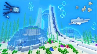 Building An EXPERT Underwater BASE In MINECRAFT!