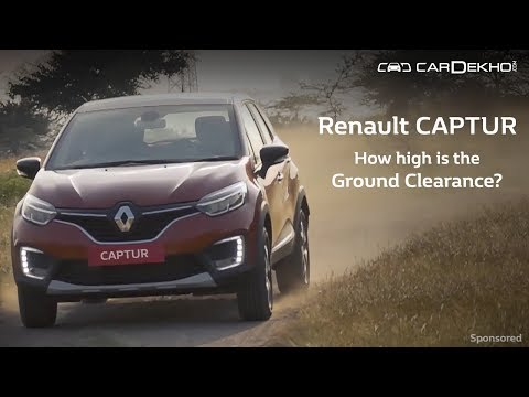 How high is the Renault Captur's ground clearance? (Sponsored Feature)