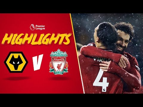 Salah & Van Dijk send Reds top | Wolves 0-2 Liverpool | Highlights