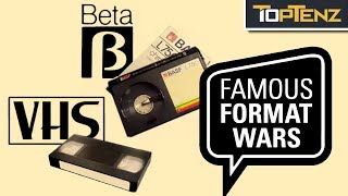 Top 10 Format Wars and Who Won