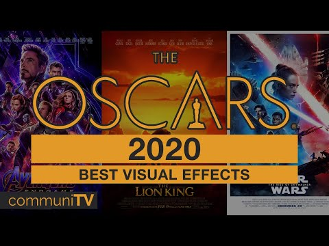 Best Visual Effects Nominations   Oscars 2020