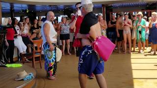 Carnival Pride August 2018 Hairy Chest Contest