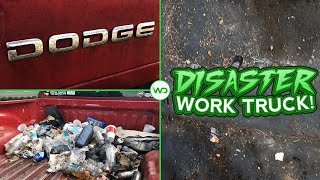 Deep Cleaning A DISASTER Dodge Ram 2500 Laramie | Nasty Truck Detailing And INSANE Transformation!