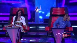 Anahit Gabrielyan,Կարոտ by A. Khachatryan -- The Voice of Armenia – The Blind Auditions – Season 3