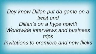 Dizzee Rascal - Hype Talk Lyrics