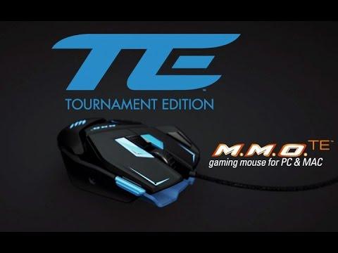 Видео № 0 из игры Мышь Mad Catz M.M.O.TE Gaming Mouse - проводная лазерная (Red)