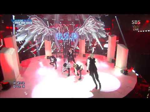 140209 B A P   Spy & 1004 Angel @ Inkigayo Comeback Stage 1080P