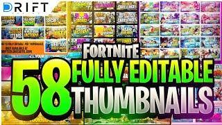 Fortnite Youtube Thumbnail Template   Free V Bucks Generator