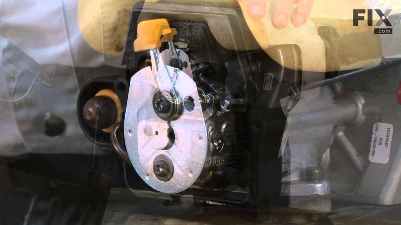 Replacing your Ryobi Trimmer Carburetor Gasket