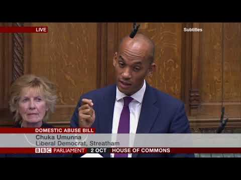 Domestic Abuse Bill | Chuka's question to the Justice Minister