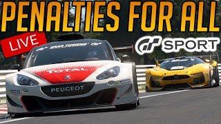 Gran Turismo Sport: Open Lobby - PENALTIES FOR EVERYONE