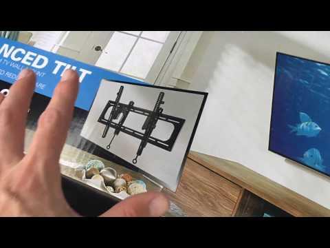 Sanus Advanced TV Mount BLT2-B1 Unboxing