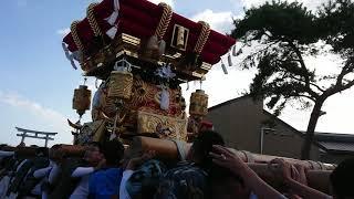 住吉神社(八木) 八木 布団太鼓