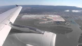 Seattle (SEA) - San Francisco (SFO) United Airlines #525 Landing