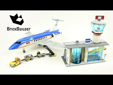 Vidéo LEGO City 60104 : Le terminal pour passagers