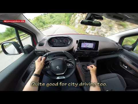Peugeot  Rifter Минивен класса M - тест-драйв 3