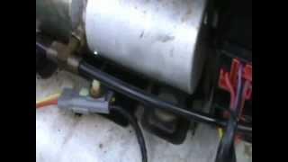 Convertible Top Motor Repair
