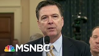 Exclusive: Misunderstanding At Root Of James Comey Resources Question? | Rachel Maddow | MSNBC