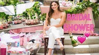 MY BRIDAL SHOWER + GAMESI Sierra Dallas