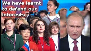 Putin: West Said Russia Would Break Apart, But We Proved Them Wrong!