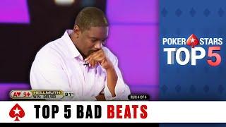 Top 5 Worst Poker Bad Beats   PokerStars
