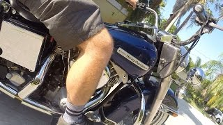 Ride on board this 1977 FLH Shovelhead Electra Glide, immaculate, deal!!  (Ebay Jake)