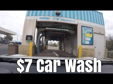 $7 Touchless Drive-Thru Car Wash - Worth It?