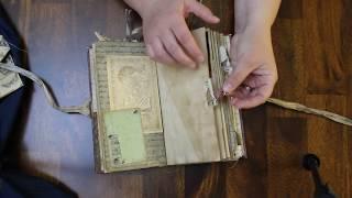 Vintage Woodland Junk Journal Flip Through