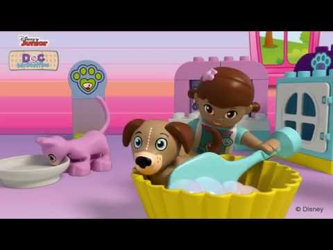 Vidéo LEGO Duplo 10828 : Les soins vétérinaires de Docteur La Peluche