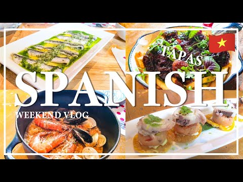 , title : 'SUB【ベトナム】ホーチミンで食べる本格スペイン料理/ Spanish food /ẩm thực tây ban nha