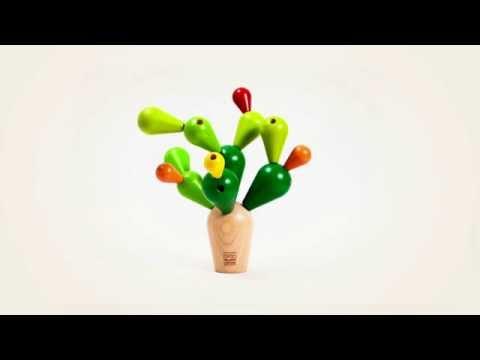 Vorschau: Balancespiel Steckspiel für Kinder Kaktus