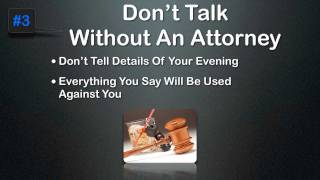 DUI - 5 Steps To Avoid A Conviction