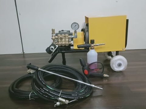 High Pressure Bike Washer