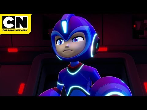 Chaotique's Break In | Mega Man: Fully Charged | Cartoon Network