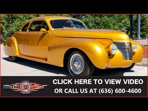 1940 LsSalle Custom Coupe for Sale - CC-963052